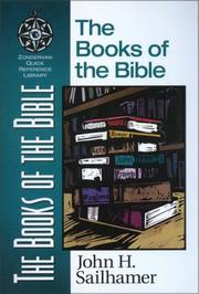 Cover of: The books of the Bible | John Sailhamer