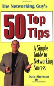 Cover of: The Networking Guy's 50 Top Tips