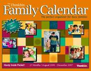 Cover of: The Thinkbin Family Calendar 2006/2007, Compact Size | Susan S. Anderson