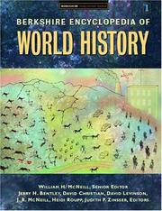 Cover of: Berkshire Encyclopedia Of World History |