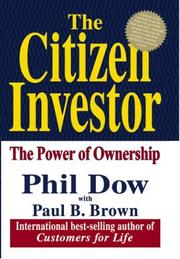 Cover of: The Citizen Investor | Phil Dow, Paul B. Brown