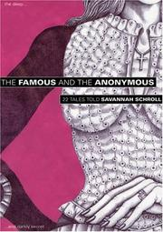 Cover of: The Famous and the Anonymous