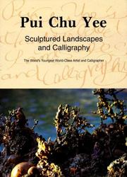 Cover of: Sculptured Landscapes and Calligraphy