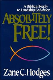 Cover of: Absolutely free!