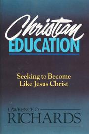 Cover of: Christian education