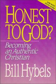Cover of: Honest to God?: becoming an authentic Christian