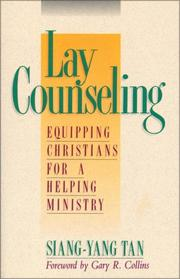 Cover of: Lay counseling