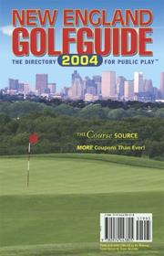 Cover of: New England Golfguide 2004 | Leona F. Curhan