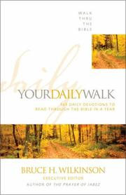 Cover of: Your daily walk |