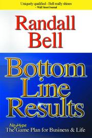 Cover of: Bottom Line Results