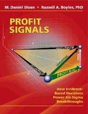 Cover of: Profit Signals