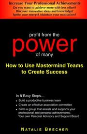Cover of: Profit From The Power Of Many
