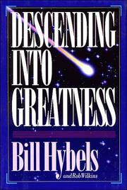 Cover of: Descending into greatness