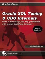 Cover of: Oracle SQL Tuning & CBO Internals (Oracle In-Focus series)