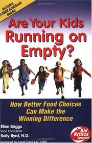 Cover of: Are your kids running on empty