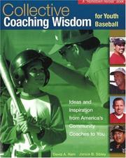 Cover of: Collective coaching wisdom for youth baseball