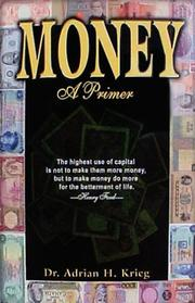 Cover of: Money