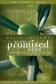 Cover of: Faith Lessons on the Promised Land (Church Vol. 1) Participant's Guide