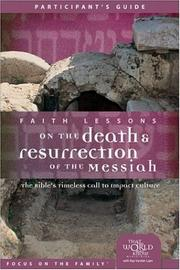 Cover of: Faith Lessons on the Death and Resurrection of the Messiah (Church Vol 4) Participant's Guide