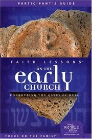 Cover of: Faith Lessons on the Early Church (Church Vol. 5) Participant's Guide