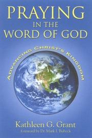 Cover of: Praying in the Word of God