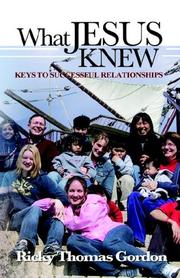 Cover of: What Jesus Knew