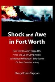 Cover of: Shock And Awe In Fort Worth | Sheryl Elam Tappan