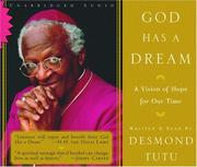 Cover of: God Has a Dream Unabridged Audio