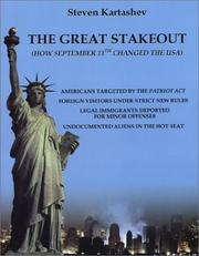 Cover of: The Great Stakeout | Steven Kartashev