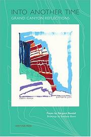 Cover of: Into Another Time: Grand Canyon Reflections