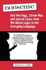 Cover of: Nonsense: Red Herrings, Straw Men and Sacred Cows