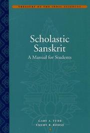 Cover of: Scholastic Sanskrit |