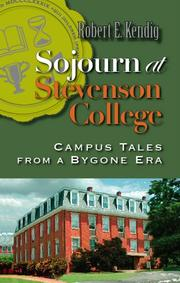 Cover of: Sojourn at Stevenson College