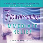 Cover of: Flowdreaming for Immediate Relief