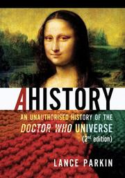 Cover of: Ahistory | Lance Parkin