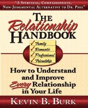 Cover of: The Relationship Handbook | Kevin, B Burk