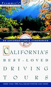Cover of: Frommer's California's Best-Loved Driving Tours (Frommers Best-Loved Driving Tours. California, 2nd ed)