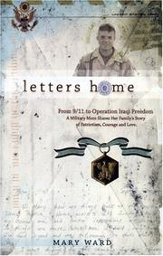 Cover of: Letters Home: From 9/11 to Operation Iraqi Freedom