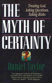 Cover of: The myth of certainty