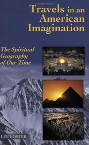 Cover of: Travels in an American Imagination | Lee Foster