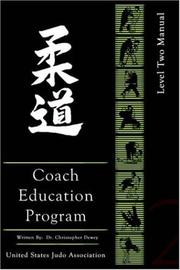 Cover of: United States Judo Association Coach Education Program Level 2