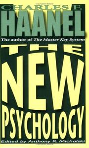 Cover of: The New Psychology
