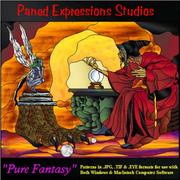 Cover of: Stained Glass Pattern Collection - Pure Fantasy | Paned Expressions Studios