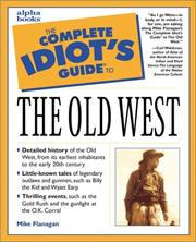 Cover of: The Complete Idiot's Guide to the Old West