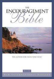 Cover of: NIV encouragement Bible