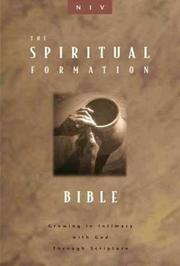 Cover of: The spiritual formation Bible