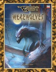Cover of: The Complete Guide to Werewolves (Complete Guide)