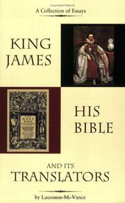 Cover of: King James, His Bible, and Its Translators