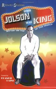 Cover of: When Jolson Was King