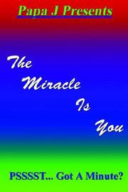 Cover of: The Miracle Is You